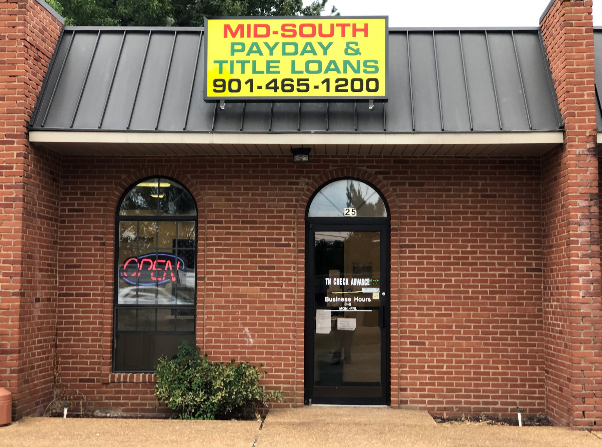 MidSouth Payday & Title Loans at 17390 U.S. 64 E, Somerville, Tennessee 38068